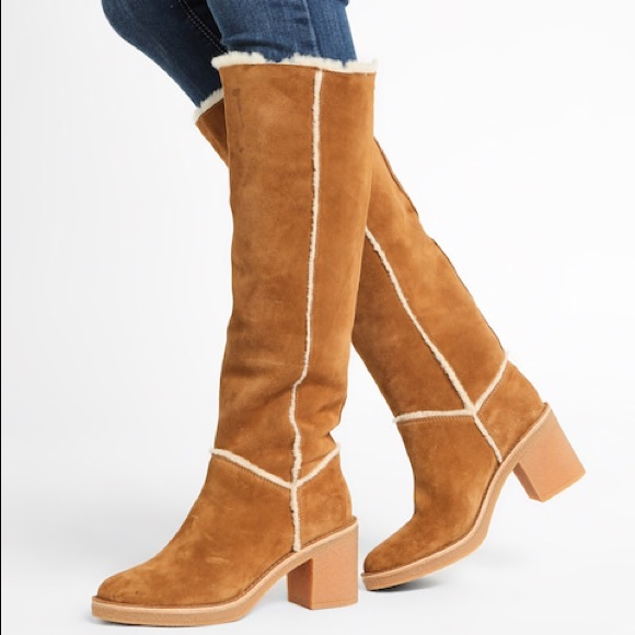 13547c4489b UGG KASEN TALL CHESTNUT New Without Tags or Box. NWT